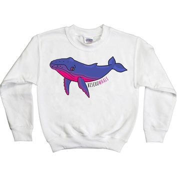 Bisexu-whale -- Youth Sweatshirt