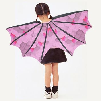 SPECIAL 120*70 Cm Girl Anime Costume Party Cosplay Butterfly Wings Cape Mask Birthday Gifts Dance Show Concert Dress Up