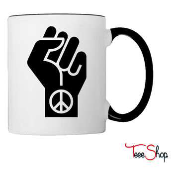 Peaceful Protest Coffee & Tea Mug