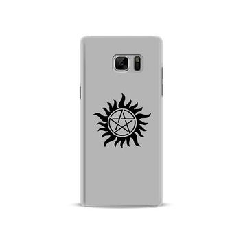 Supernatural Coque Cover Shell For Samsung Galaxy S4 S5 S6 S7 Edge S8 S9 Plus Note 8 2 3 4 5 A5 A7 J5 2016 J7 2017 Phone Case