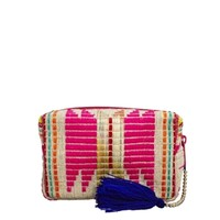 ASOS Makeup Bag In Bright Geo-Tribal