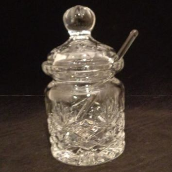 Condiment Jar With Lid