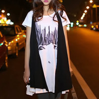 * Free Shipping * White Two Piece Women Blouse T5039w
