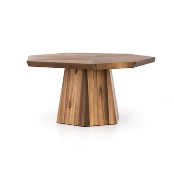 Brockat Octagon Dining Table - Natural Yuka