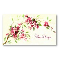 Blooms Business Card from Zazzle.com