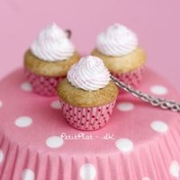 PetitPlat Food Art - Minifood Jewelry / Jewellery - Cupcakes and Muffins