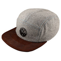 Genuine Volkswagen VW City 5 Panel Wool Baseball Cap Hat