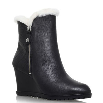 Michael Kors Whitaker Wedge Booties