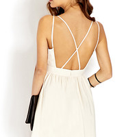 Strappy Fit & Flare Dress