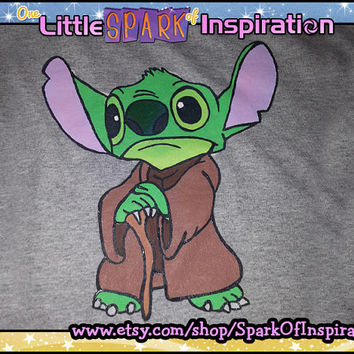Yoda Stitch Star Wars Weekend Disney Lilo & Stitch Inspired T-Shirt