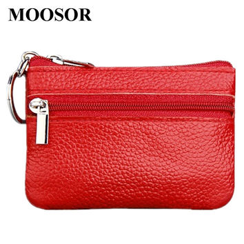 Women Wallet Genuine Leather Coin Purse Travel Organizer 11 Colors Women Storage Bag Key Holder Day Clutch Card Holders DC36