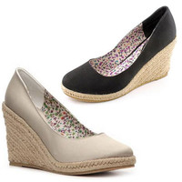 Rampage Women's 'Mathilda' Fabric Dress Shoes in 2 Colors & 9 Sizes