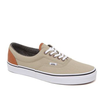 Vans Era C&L Khaki Shoes - Mens Shoes - Tan