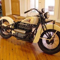 1939 Indian Four 4 Cyclinder Motorcycle