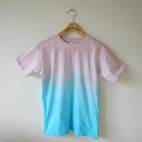 Blue and Pink Ombre Tee