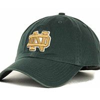 Notre Dame Fighting Irish Twins Enterprise Franchise Green Easyfit Cap Hat Small