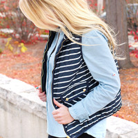 Stripes Are Everything Vest