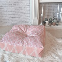 Allyson Johnson Blushed iKat Floor Pillow Square