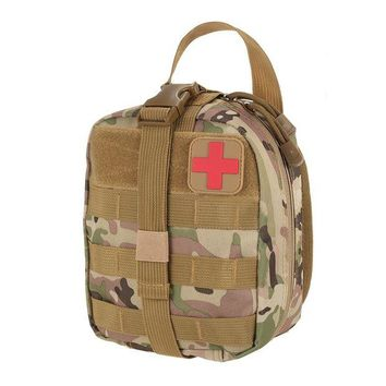 ONETOW Outdoor Utility Tactical Pouch Medical First Aid Kit Patch Bag Molle Medical Cover Hunting Emergency Survival Package 2 colors