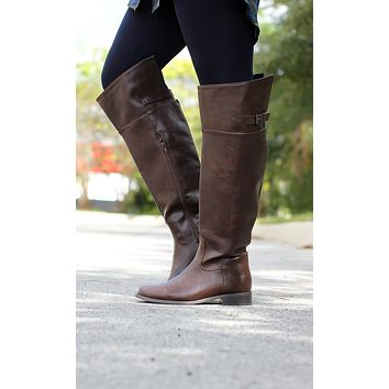 Saddle Up Rider Boot – Brown