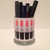 MAC cosmetics inspired makeup holder