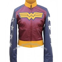 Adrianne Palicki Wonder Jacket for Woman