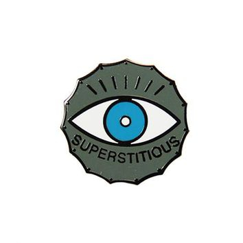 Superstitious Pin