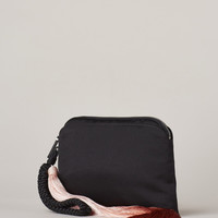 Totokaelo - The Row Black / Paprika Wristlet - $1,850.00