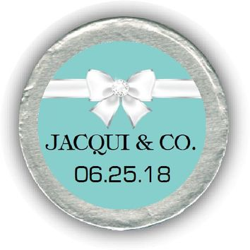 Tiffany Baby Shower Chocolate Coins