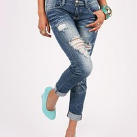 Park Side Straight Denim | Cute Jeans at Pink Ice