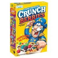 Quaker Cap'n Crunch Crunch Berries Cereal 18.7 oz : Target