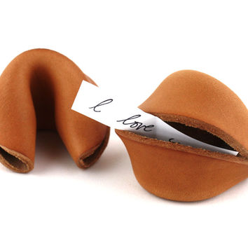 Leather Fortune Cookies