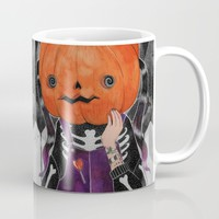 GOSH! I'M A PUMPKIN! Mug by lOll3