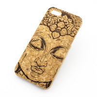 Cork Case Snap On Cover - THAI BUDDHA