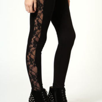 Esme Lace side Leggings