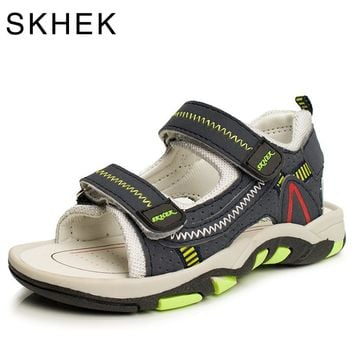 2017 Summer Kids Shoes Brand Closed Toe Toddler Boys Sandals Orthopedic Sport PU Leather Baby Boys Sandals Shoes