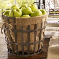 Wire Bushel Basket | Pottery Barn