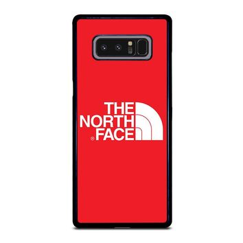 THE NORTH FACE RED Samsung Galaxy Note 8 Case Cover