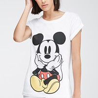 Mickey Mouse Cuffed-Sleeve Tee