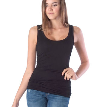 Back To Basic Tank Top - Black