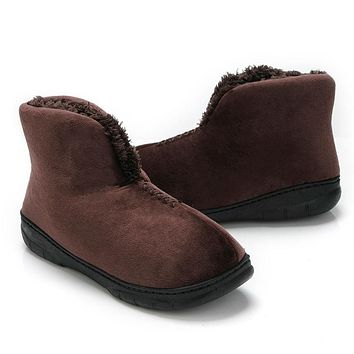 Home Slippers Women Men Unisex 2017 Winter Fur Warm Indoor Slippers Shoes Brand Casual Lovers Shoes Winter Home Shoes