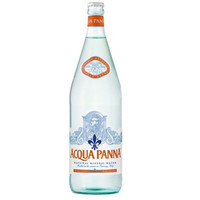 Acqua Panna Natural Spring Water 1 liter Glass Bottles - Case of 12