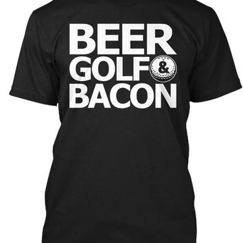 BEER GOLF BACON