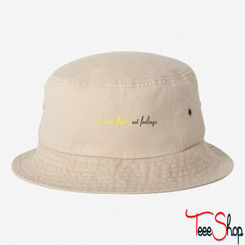 Catch Flights 3 bucket hat