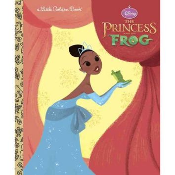 The Princess and the Frog Little Golden Book (Disney Princess and the Frog) - Walmart.com