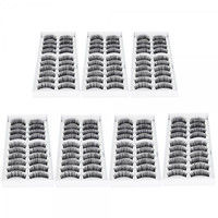 Best  looking 70 Pairs Professional  Fake  Eyelashes  Set F007