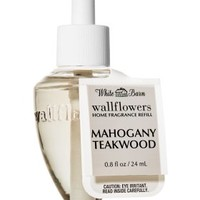Mahogany Teakwood Wallflowers Fragrance Bulb   - Slatkin & Co. - Bath & Body Works