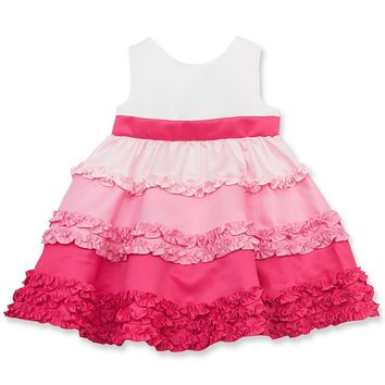 Rare Editions Baby Dress, Baby Girls Color-Blocked Dress - Kids Baby Girl (0-24 months) - Macy's