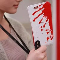 Blood Knife Case For iPhone