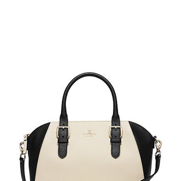 Kate Spade Cove Street Colorblock Pippa Porcelain/Black ONE